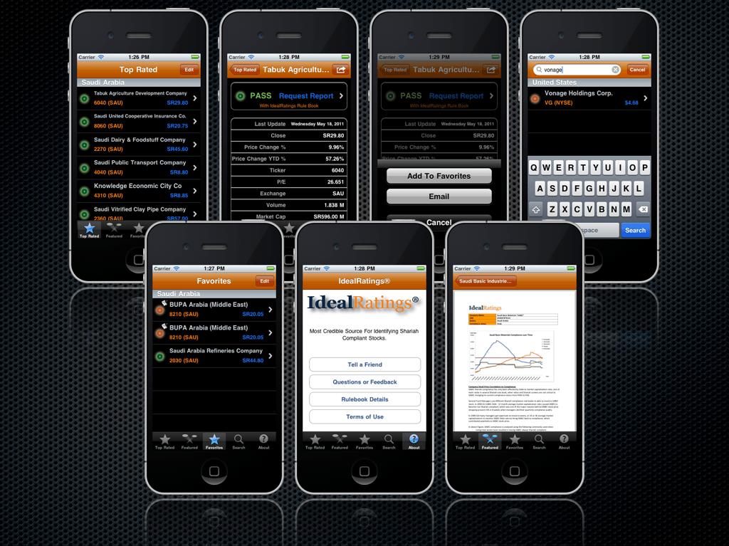 iPhone Islamic Investor English Screen Shot